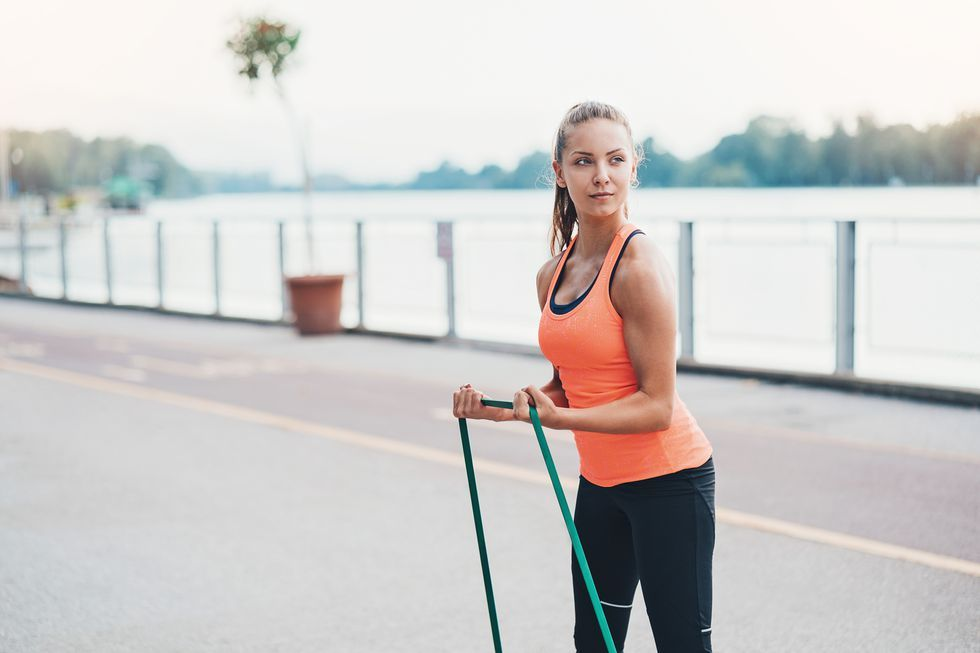 The Total-Body Resistance Bands Workout You Can Do Anywhere