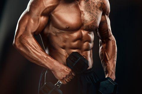 bíceps twist concentrado deceive mancuernas