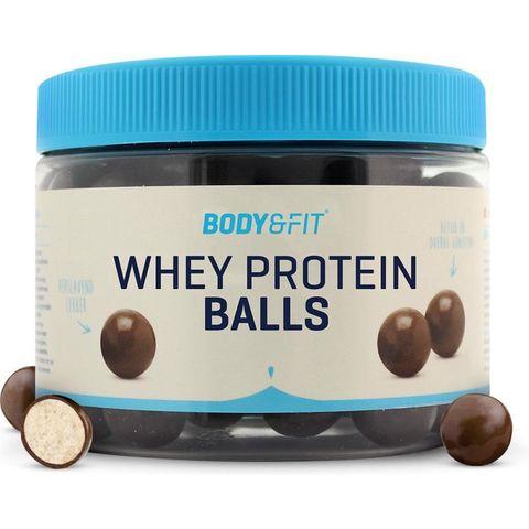 body  fit whey protein balls eiwitrijke snack balletjes chocolade sporten hardlopen eiwitten