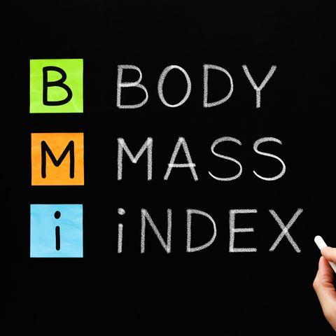 BMI - Body Mass Index Acronym Concept