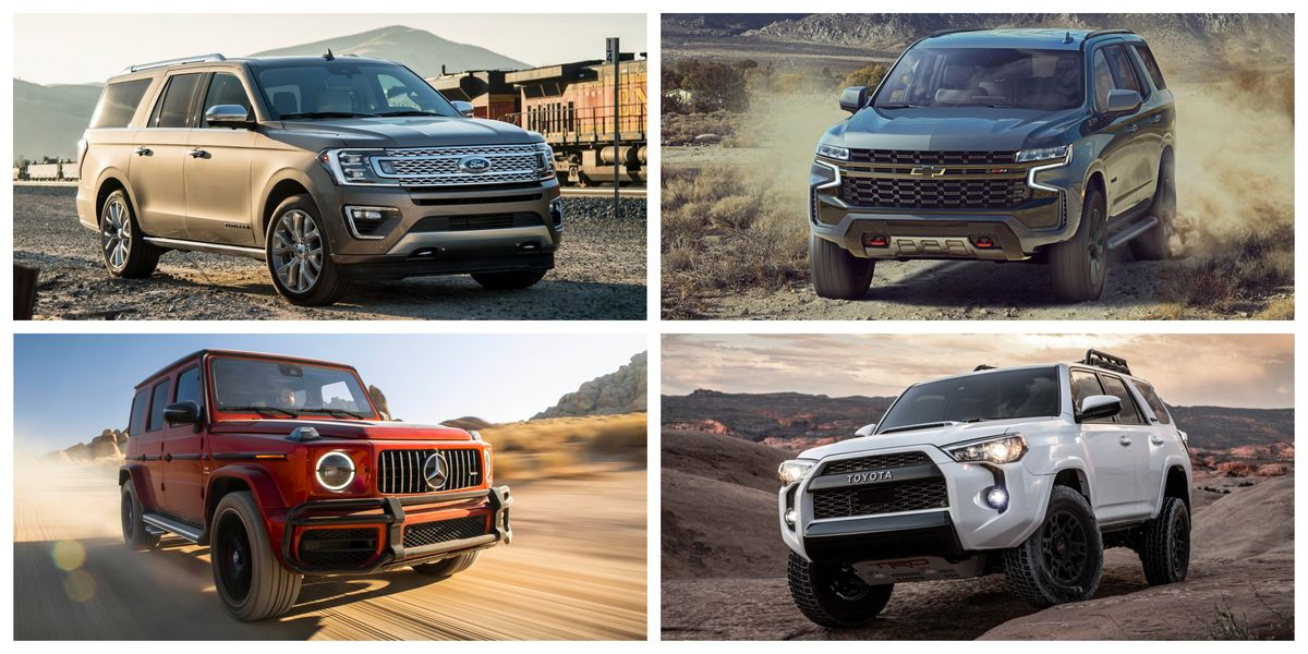 Every Body-on-Frame SUV Still Sold Today