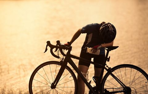 warning signs body fatigue cyclist