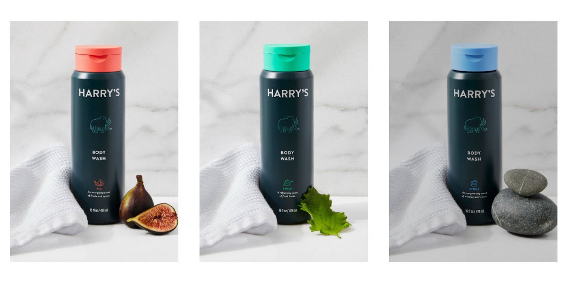 harrys body wash