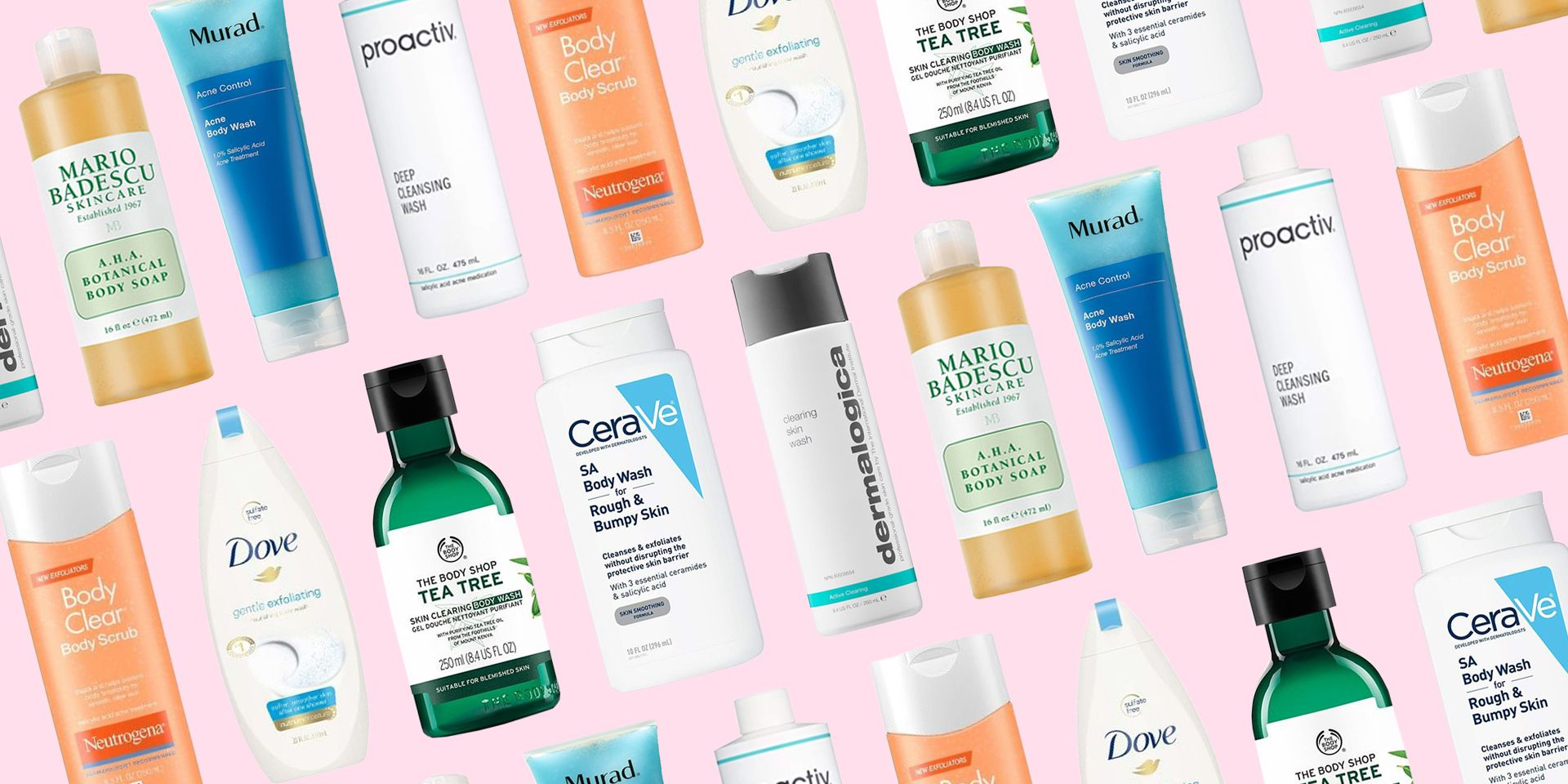 20 Best Acne Body Washes For Bacne And Breakouts In 2020