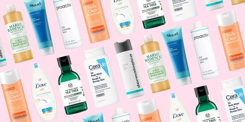20 best body washes for acne and pimples