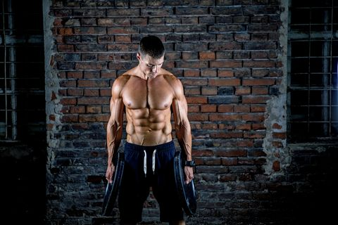 ejercicios para bíceps con discos