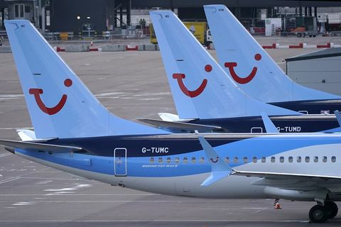 2a79b3dd77e Boeing 737 Max 8 Parked After UK Civil Aviation Authority Instructed  Grounding The Aircraft Following The