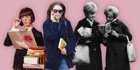 Vier vrouwen met boeken