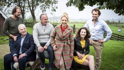 De vijf boeren van boer zoekt vrouw en yvon jaspers