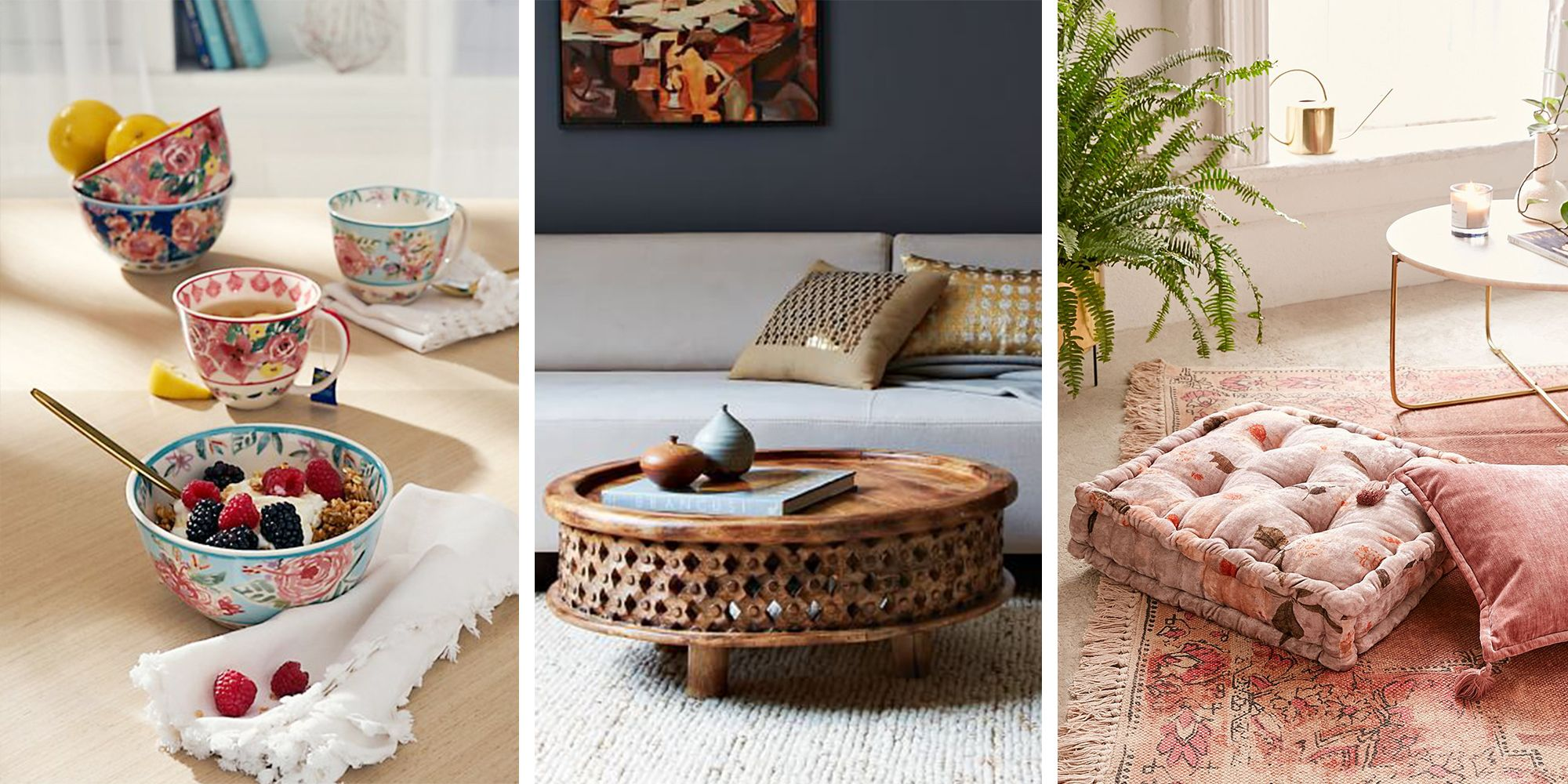 BestProducts.com & 13 Best Bohemian Decor Ideas for Laid-Back Vibes - Bohemian Home ...