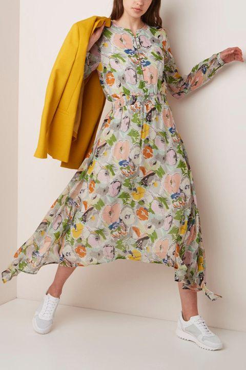 Boho jurk bloemen
