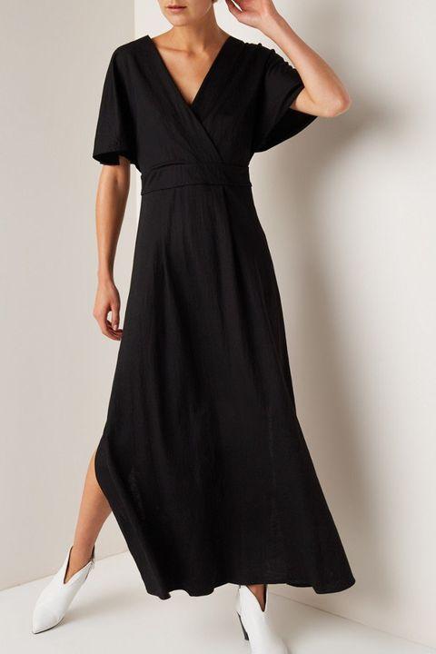 1ddda2e9f6db4f Boho-jurk zwart. de Bijenkorf