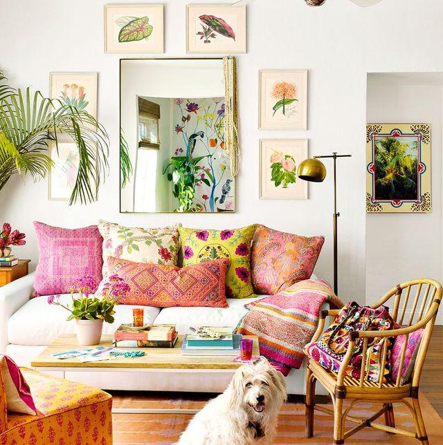 12 Inspiring Boho Living Room Ideas