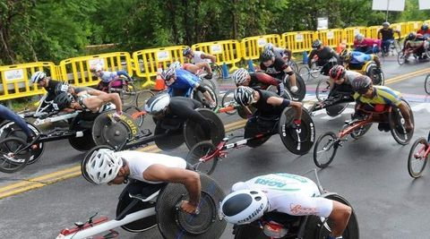 Boilermaker 15K Awards $3,500 Racing Chairs in Wheelchair Challenge