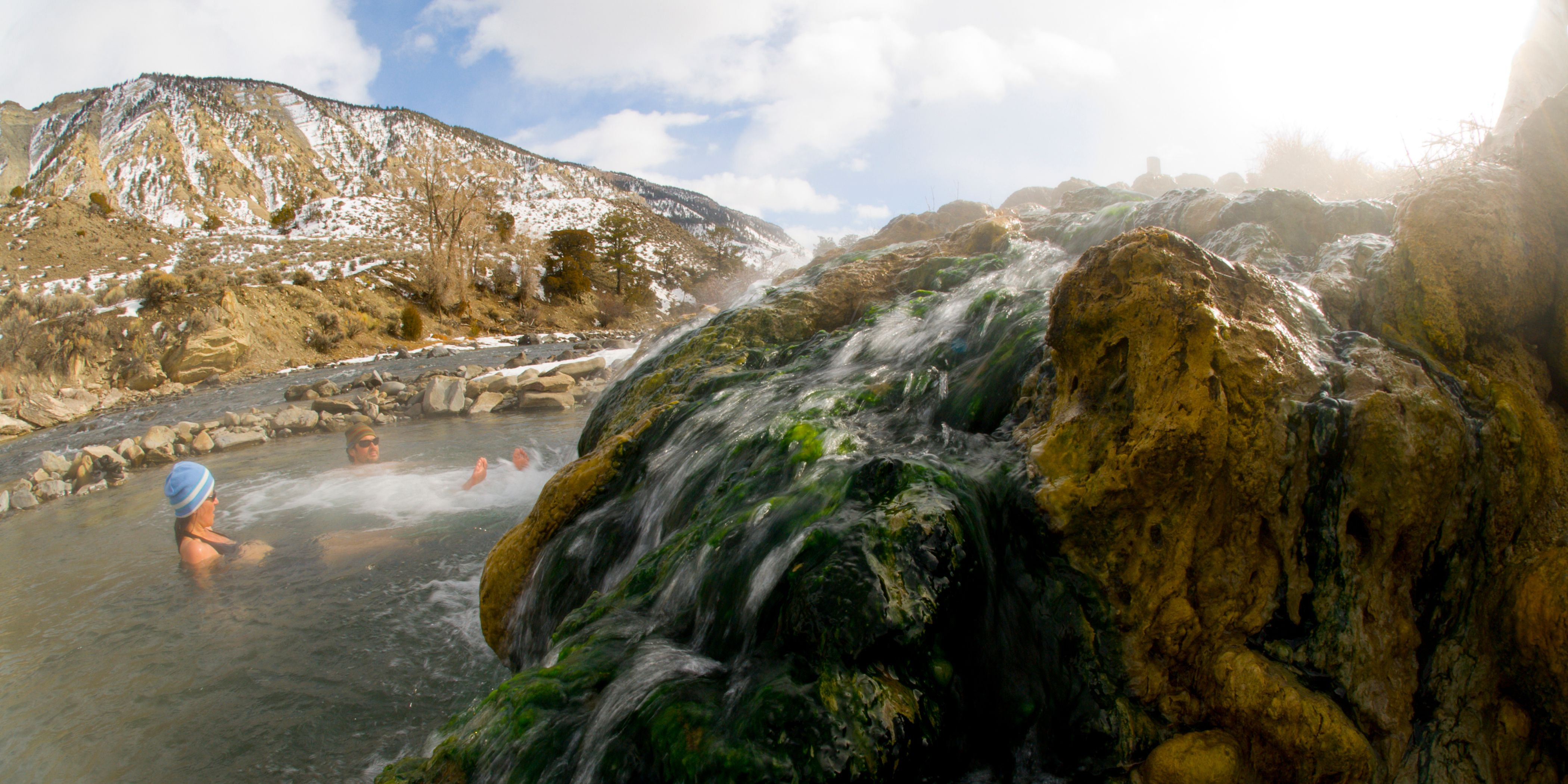 Boiling River Hot Springs — Gardiner, Montana