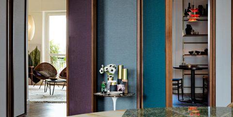 Interior design, Room, Shelf, Shelving, Floor, Interior design, Daylighting, Transparent material, Plywood,