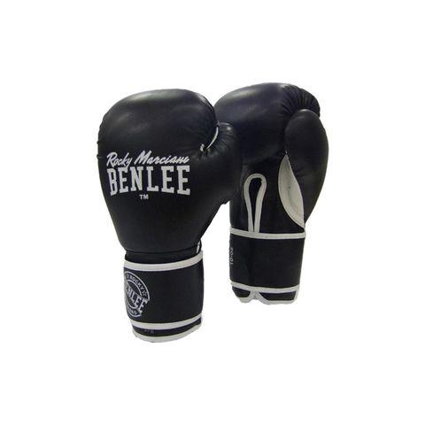 benlee bokshandschoenen boksen handschoenen zwart klittenband riem