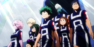 My Hero Academia openings