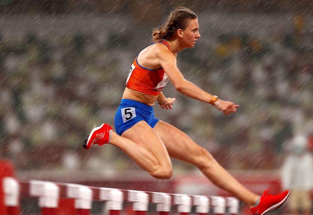 femke bol in tokio olympische spelen horden