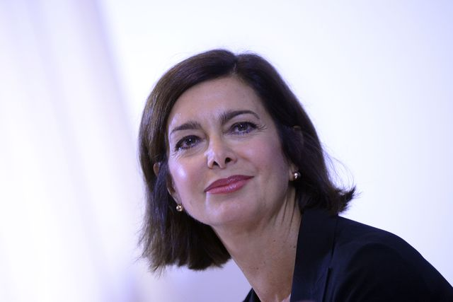 rome, italy   september 21 the president of the chamber laura boldrini presents to the foreign press association the results of the public consultation on line on the state and prospects of the european union on september 21, 2016 in rome, italy photo by simona granaticorbis via getty images