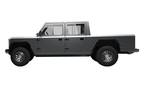 Bollinger B2 Battery-Electric Pickup Truck Coming in 2020