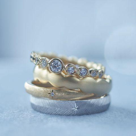 イズの結婚指輪