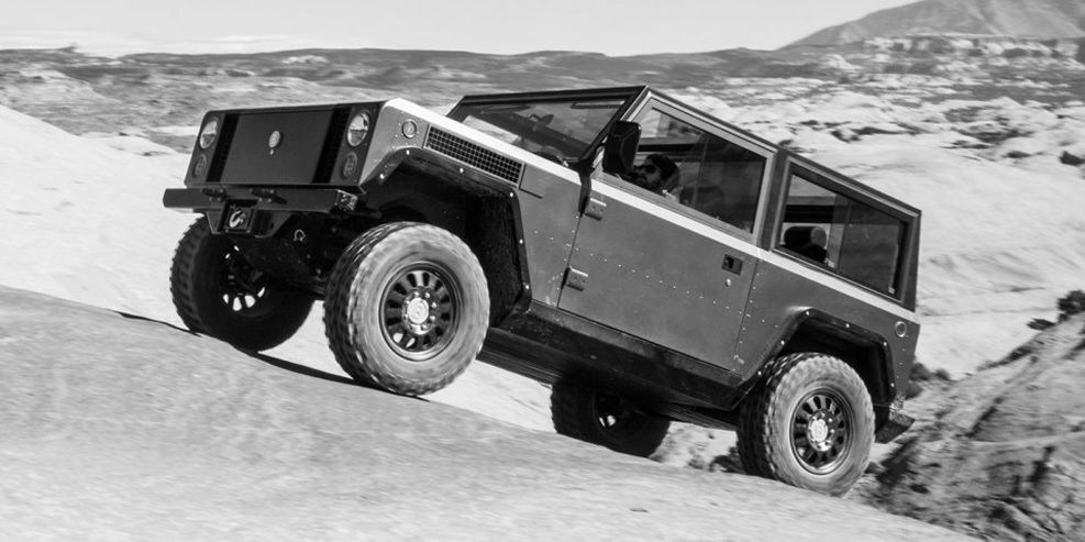 Bollinger Electric Pickup and SUV Priced at $125,000