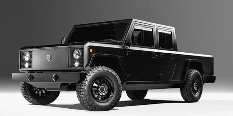 Bollinger Files Patent for Electric Truck and SUV, Saying They're Just That Unusual