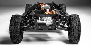 Bollinger Motors E-Chassis announced front view