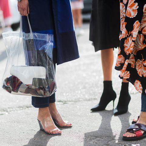Street fashion, Photograph, White, Human leg, Footwear, Leg, Fashion, Snapshot, High heels, Shoe,