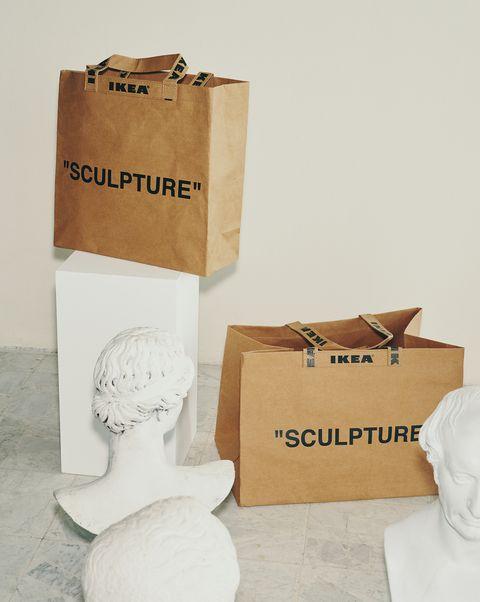 Bolsas de la colección MARKERAD de IKEA