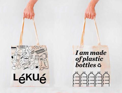 Kit Green Shopper: Bolsa de compra botellas recicladas