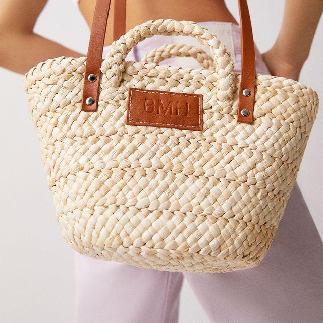 el bolso capazo cesta personalizable de pullbear