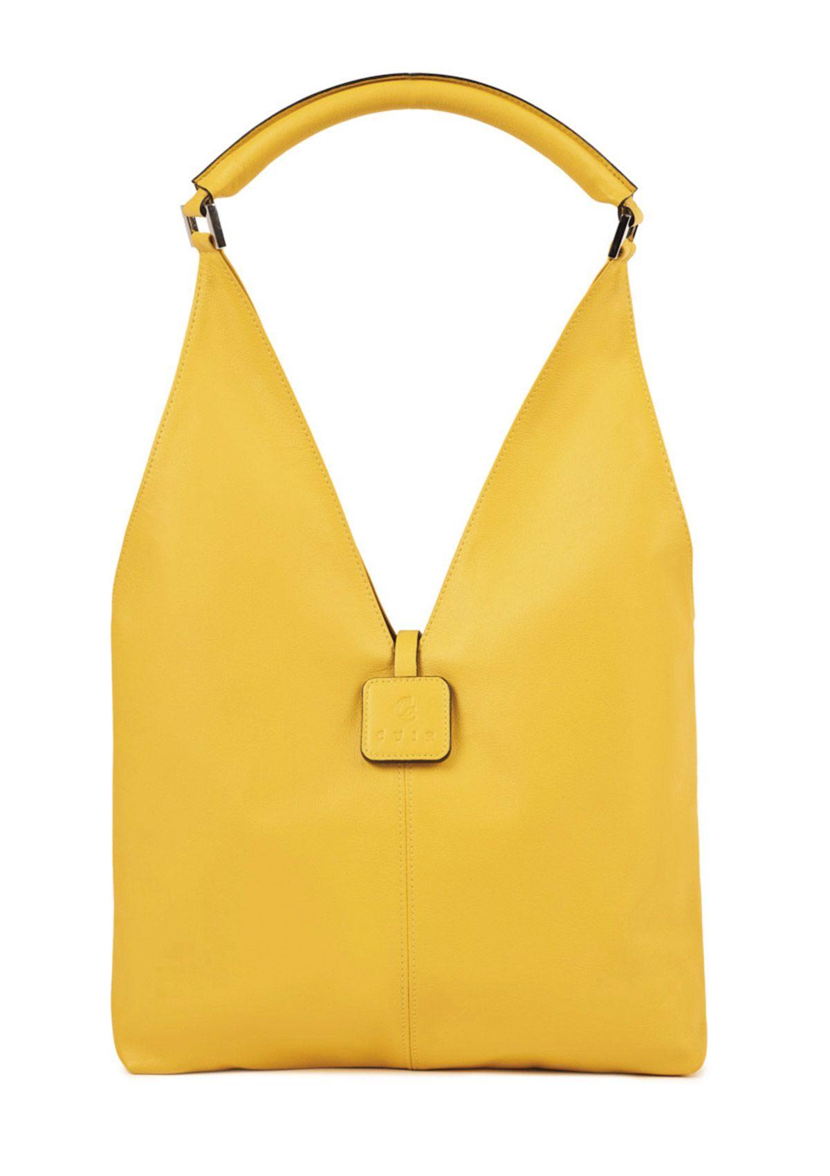 Bolso amarillo de CC Cuir.