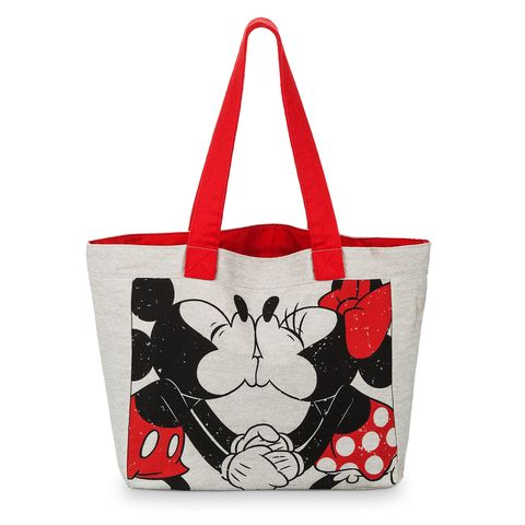 Handbag, Bag, Tote bag, Red, Fashion accessory, Luggage and bags, Shoulder bag, Material property, Font, Fictional character,