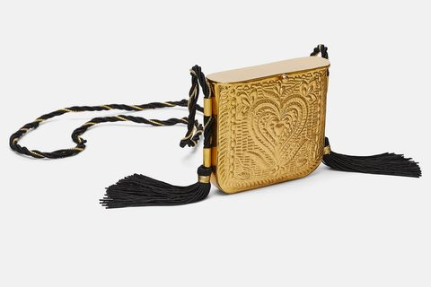gran descuento 71202 be354 Zara y su nuevo bolso capricho - El bolso de fiesta de Zara ...