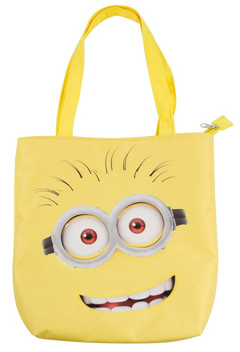 Bolso Shopper Minions Color Amarillo