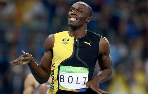 Men's 100 Meters: Usain Bolt On Top Again With Third Consecutive Gold