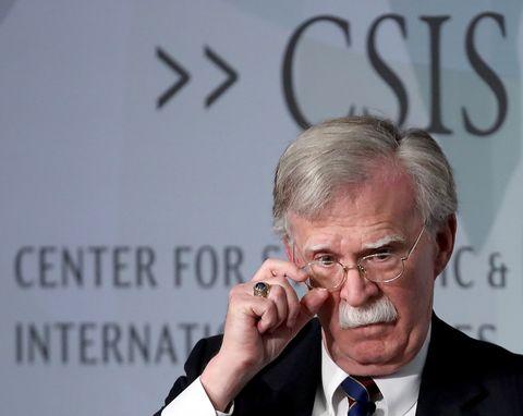 Former National Security Advisor John Bolton Delivers Keynote Address At CSIS Forum