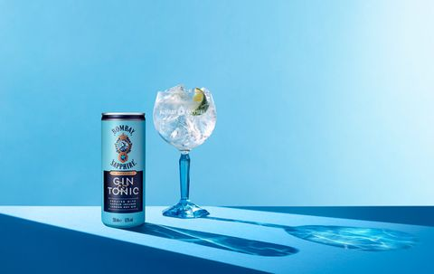 Bombay Sapphire Cans