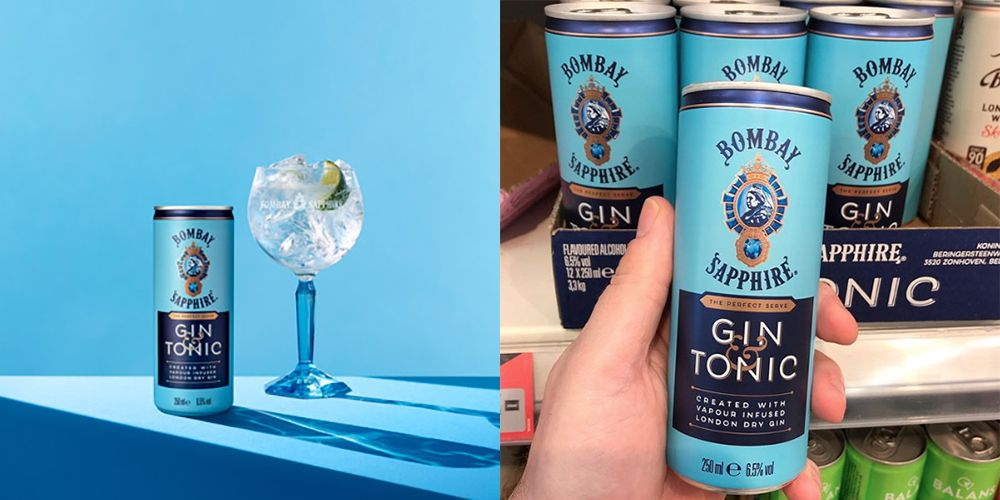 You Can Now Buy Bombay Sapphire Pre-Mixed Gin & Tonic Cans