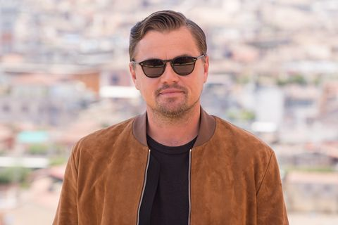 """Leonardo Di Caprio during the photocall of film """"Once Upon a"""