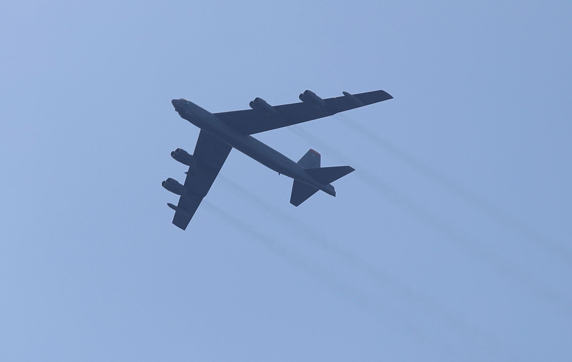 In a Show of Force, American B-52s Just Flew Over the Middle East to Deter Iran