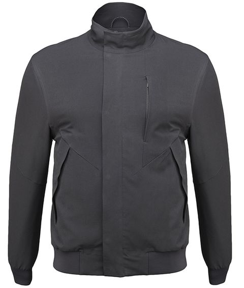 Clothing, Jacket, Sleeve, Black, Outerwear, Collar, Jersey, Neck, Polar fleece, Top,