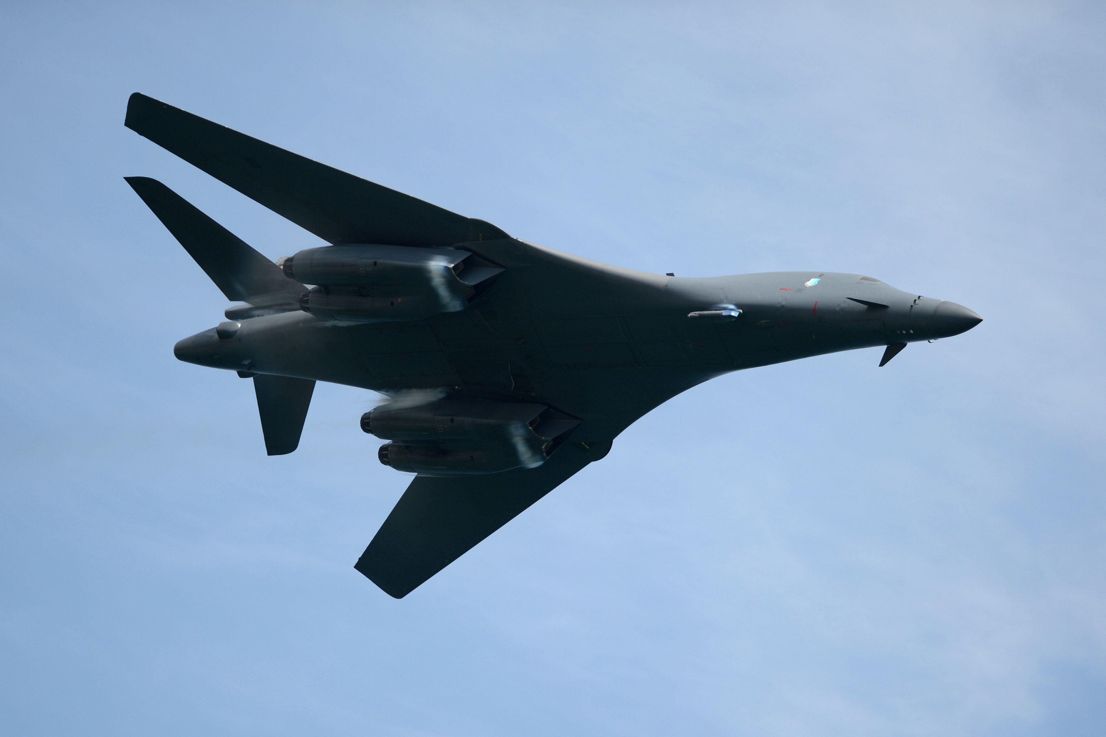 The B-1B Bomber Could Bulk Up on Long-Range Weapons