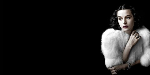 Photograph, Fur, Fur clothing, Fashion model, Beauty, Flash photography, Lip, Black-and-white, Fashion, Model,