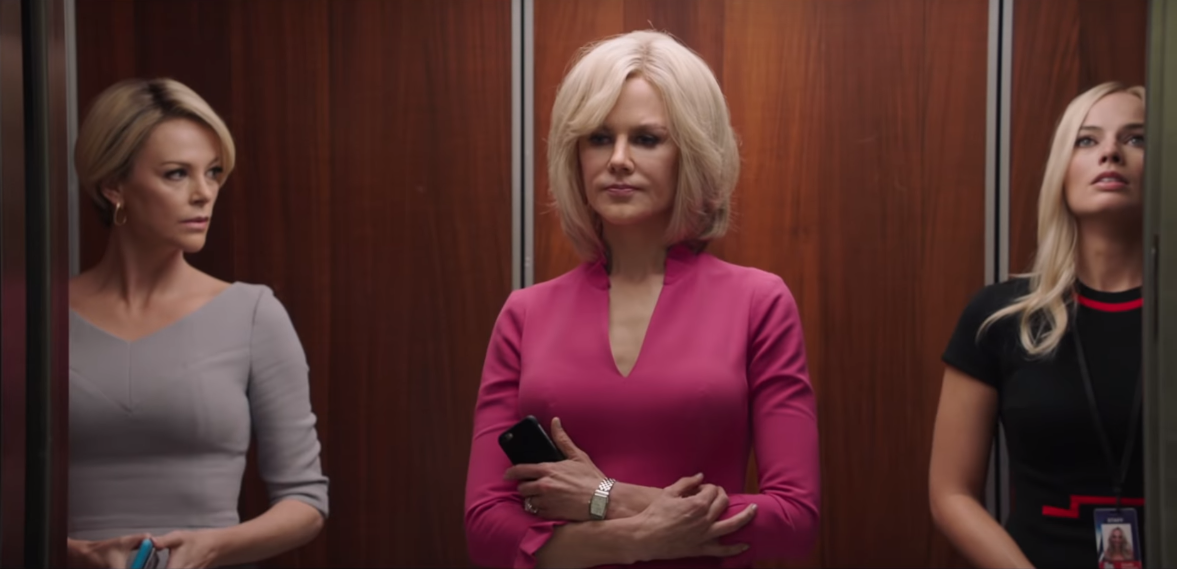 Margot Robbie, Charlize Theron and Nicole Kidman star in Bombshell trailer about true MeToo scandal