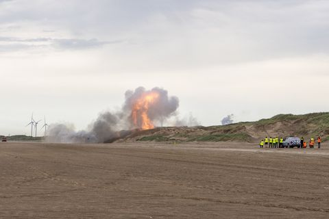 bom explosie Bloemendaal