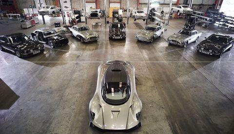 Bond 25 auto's Aston Martin