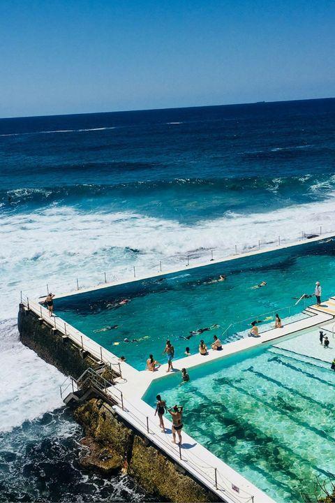 bondi beach, iceberg, pool, australia